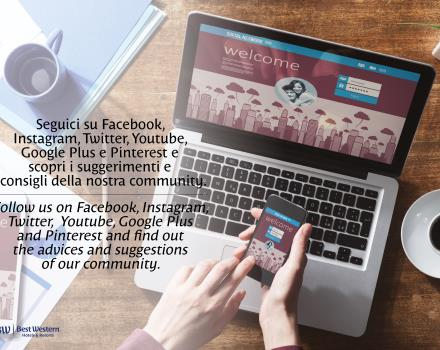 Follow us on Facebook, Twitter, YouTube, Google, Plus and Pinterest and find out the tips and advice of our community.