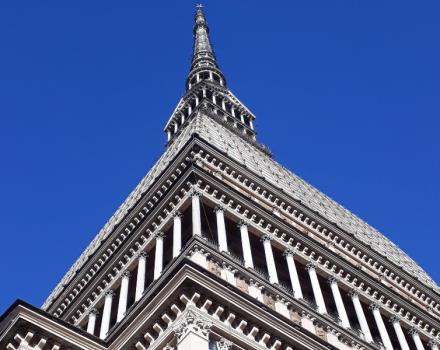 Home to the National Museum of Cinema, the Mole Antonelliana, an architectural symbol of the city of Turin, was initially conceived as a Synagogue, before being purchased by the municipality to make it a monument to the Unification of Italy.