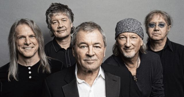 Deep Purple in Turin, the 11 March 2018 at Stupinigi Sonic Park