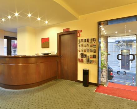 Reception Best Western Hotel Crimea Turin Centre